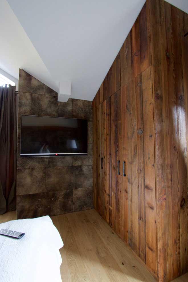 Schlafzimmer Altholz Möbel