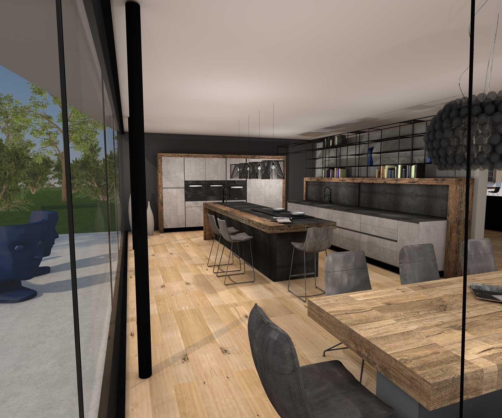 Sendlhofer Küche Altholz Planung