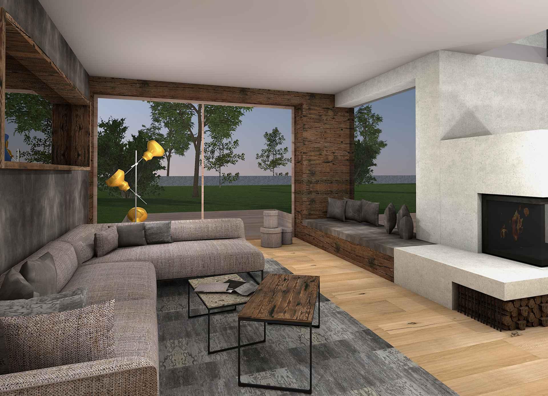 wohnzimmer Design Sendlhofer