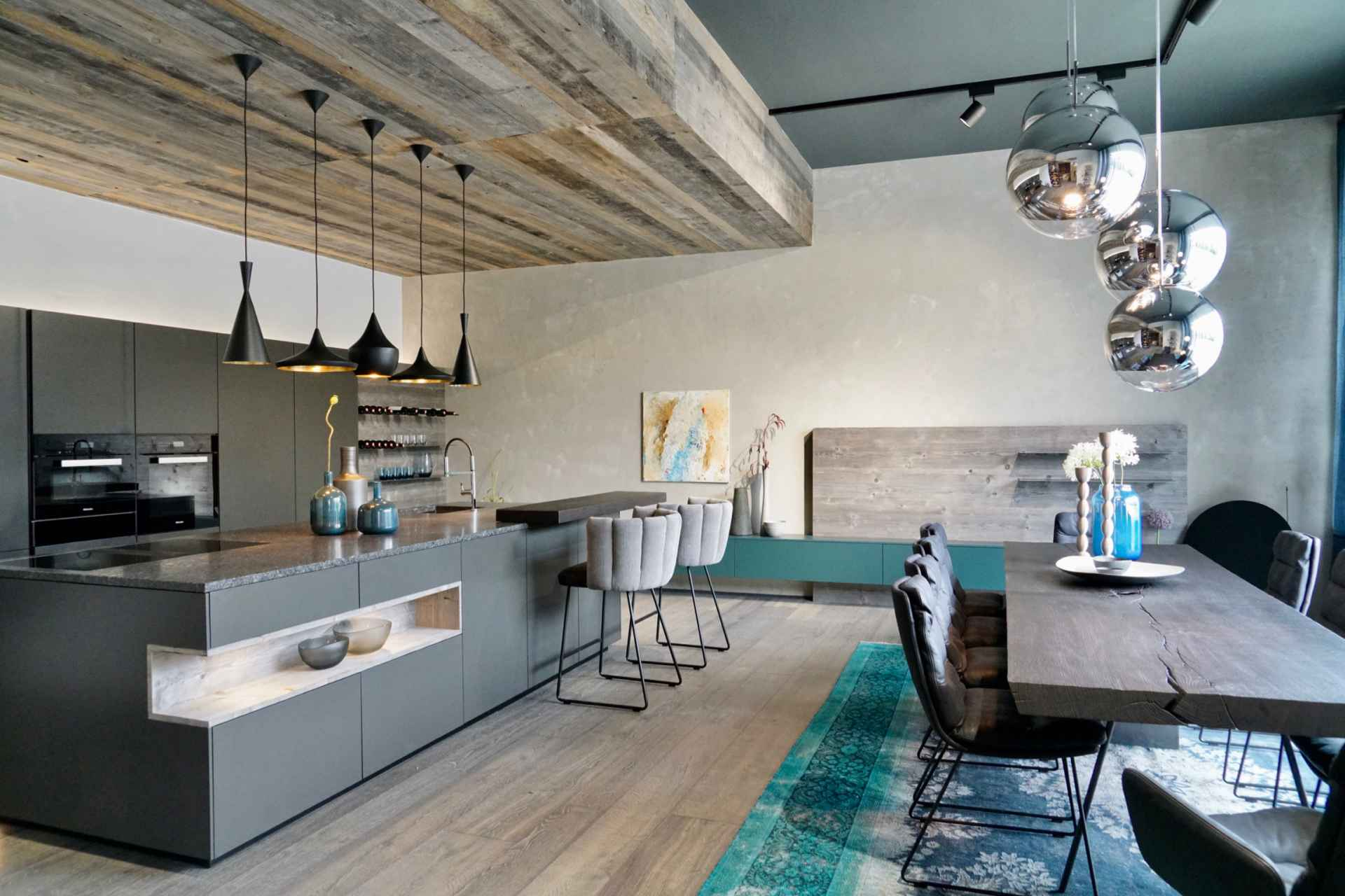 Sendlhofer Küche grau
