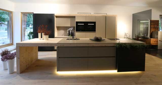 Bekannt Küche mit Holz - Sendlhofer Küchenstudio und Wohnstudio YB48