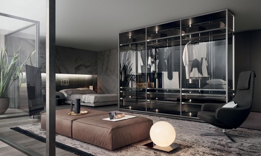 Schlafzimmer Design Rimadesio